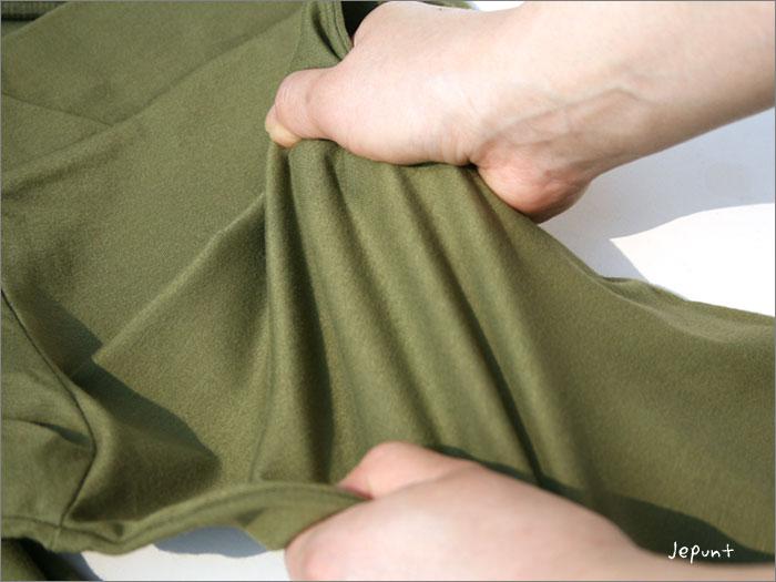 ゴアパンツの伸縮性はすごい!縦と横に伸びます!