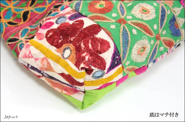 バッグ■ミラーワーク刺繍 ショルダーバッグ(08)