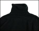 ニットタートルネックセーター(ブラック)