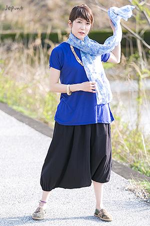 エスニックファッションの定番アイテム サルエルパンツ