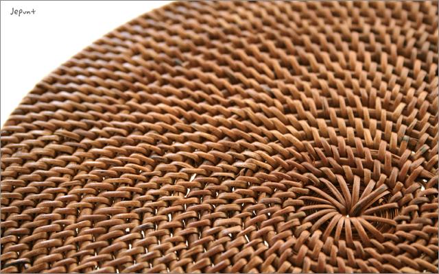 キッチン雑貨■バリ雑貨 アタ製鍋敷き 20cm