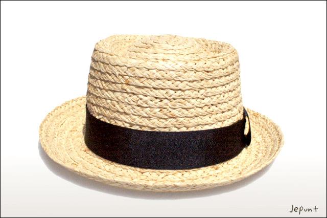 帽子■カンカン帽(ベージュ)